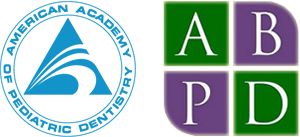 American Academy of Pediatric Dentistry and American Board of Pediatric Dentistry logos