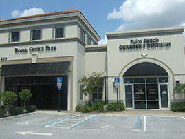 Our Pediatric Dental Office Building in Royal Palm Beach Florida