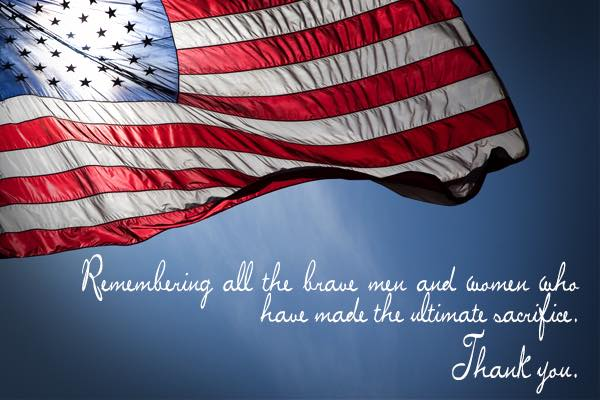 Happy Memorial Day – Dr. Lisa Ameer   Palm Beach Children's Dentistry